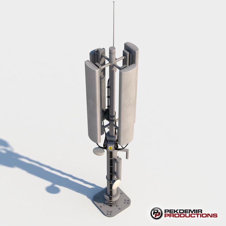 Antena de comunicação royalty-free 3d model - Preview no. 7