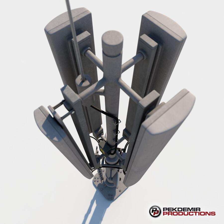 Antena de comunicação royalty-free 3d model - Preview no. 5