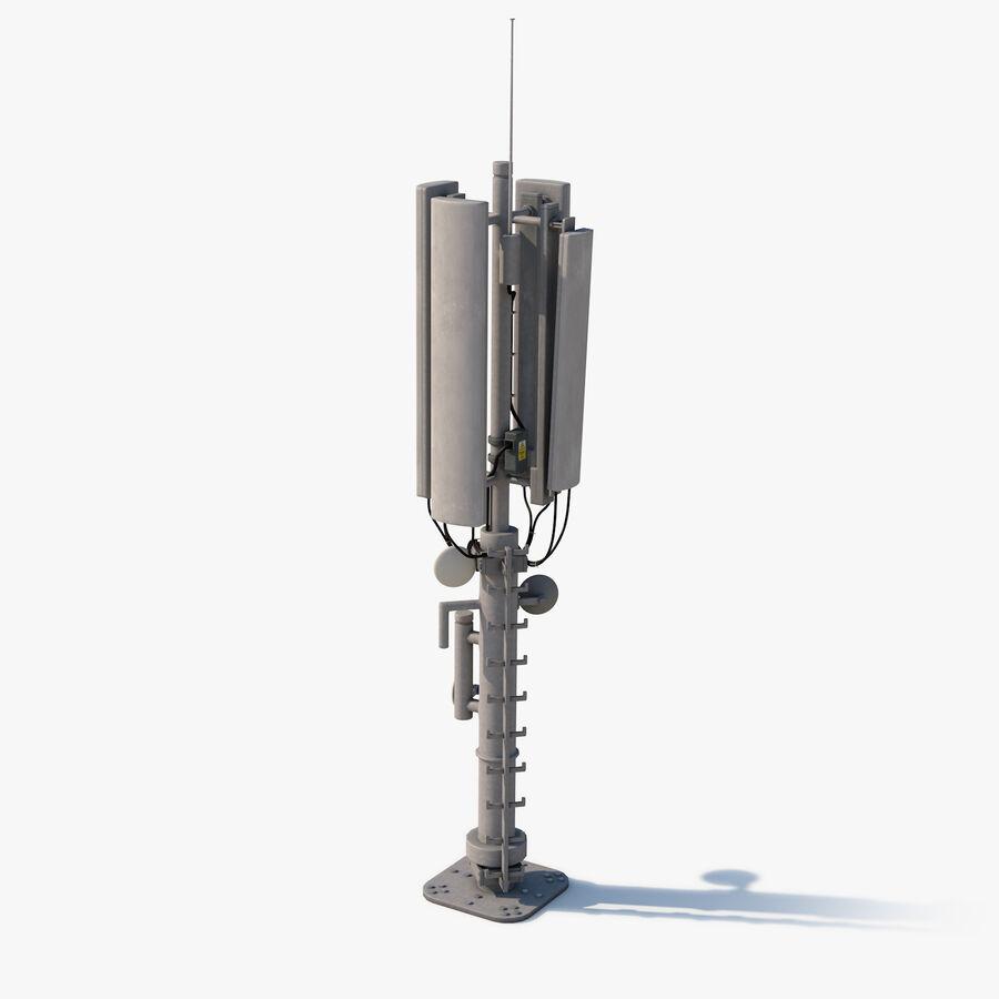 Antena de comunicação royalty-free 3d model - Preview no. 1