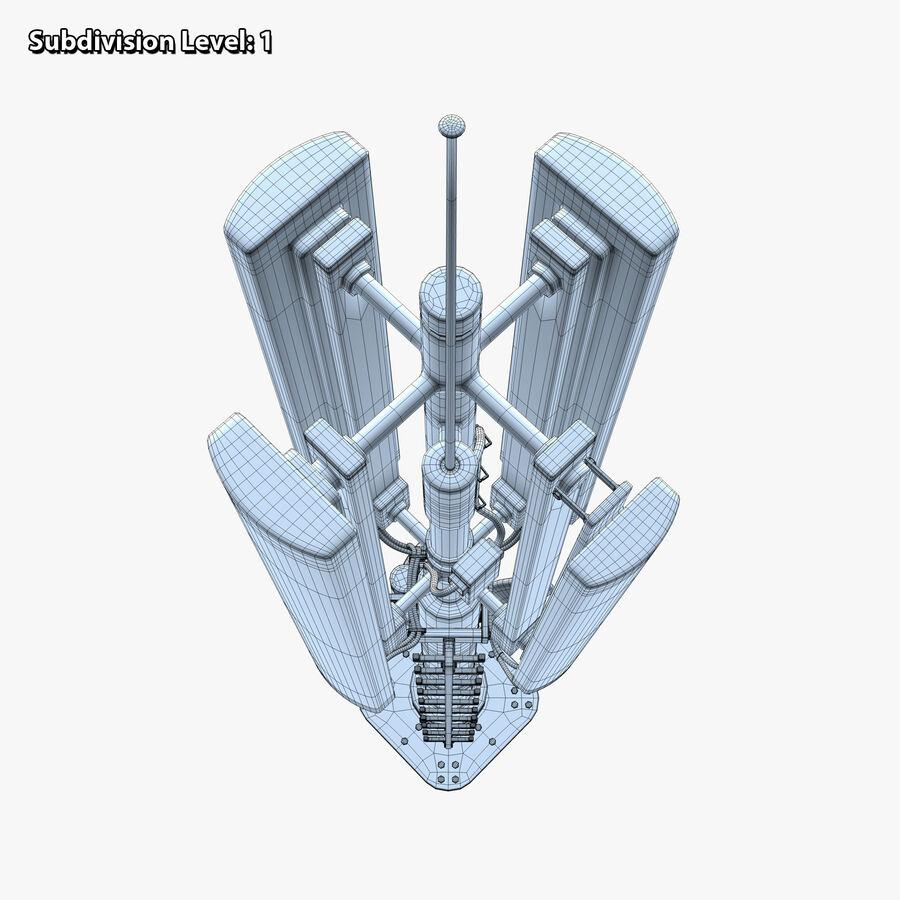 Antena de comunicação royalty-free 3d model - Preview no. 15