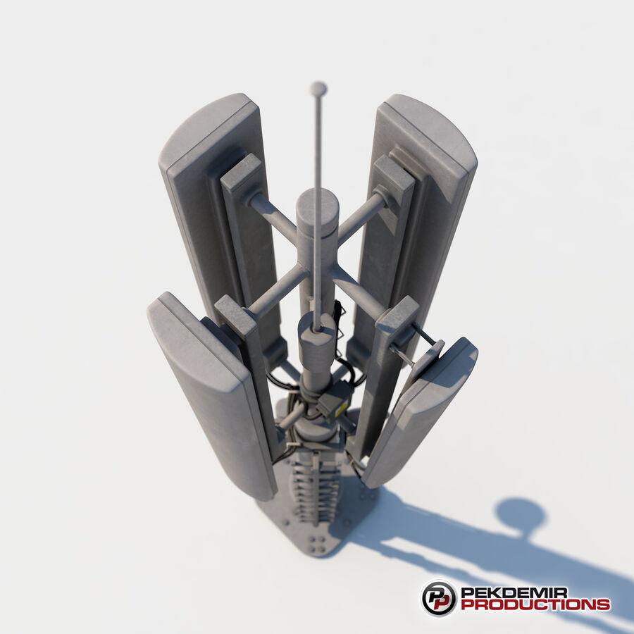 Antena de comunicação royalty-free 3d model - Preview no. 4