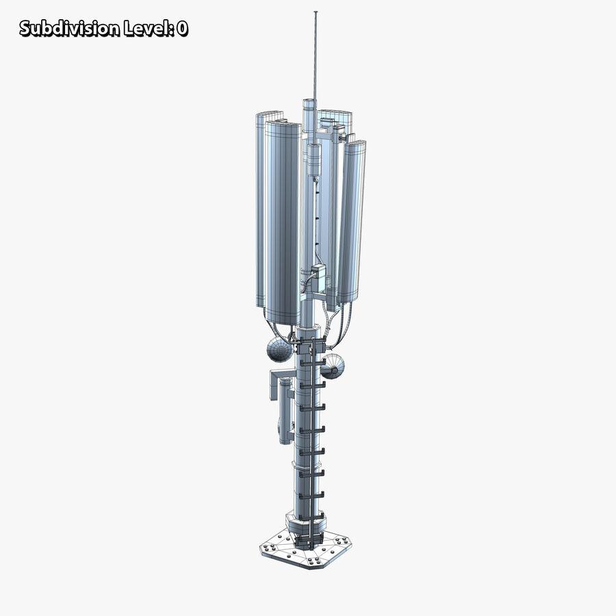 Antena de comunicação royalty-free 3d model - Preview no. 10