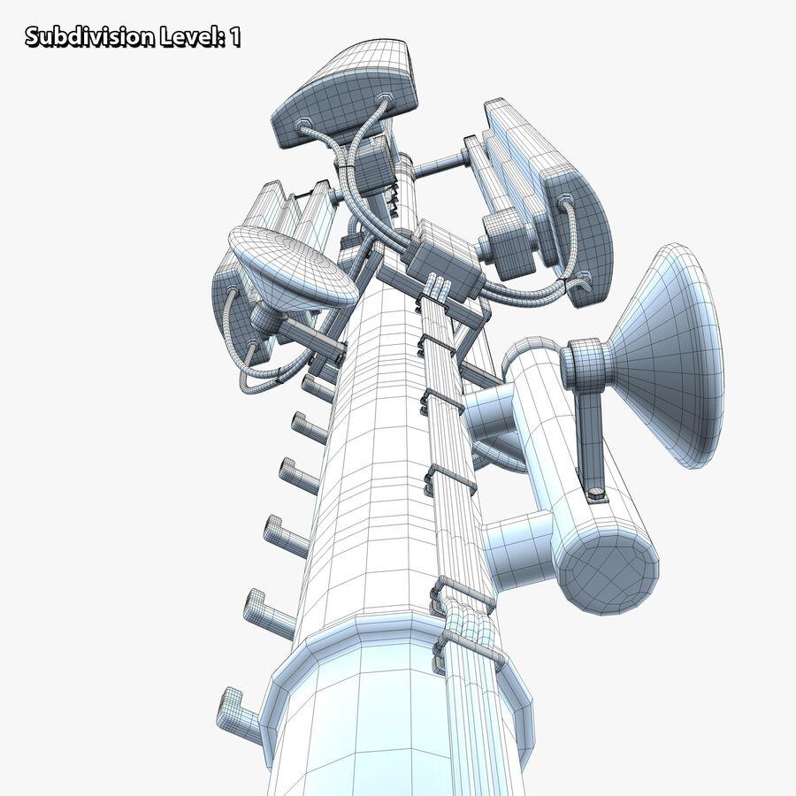 Antena de comunicação royalty-free 3d model - Preview no. 17