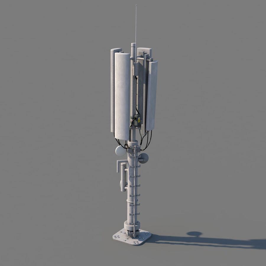 Antena de comunicação royalty-free 3d model - Preview no. 2