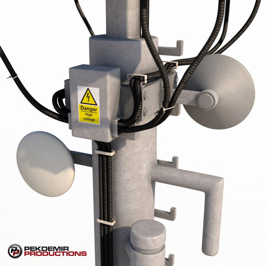Antena de comunicação royalty-free 3d model - Preview no. 8