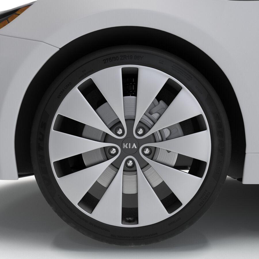 Kia Optima 2014 manipuliert royalty-free 3d model - Preview no. 56