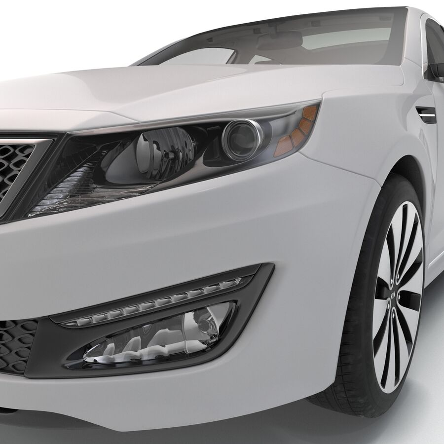 Kia Optima 2014 manipuliert royalty-free 3d model - Preview no. 53