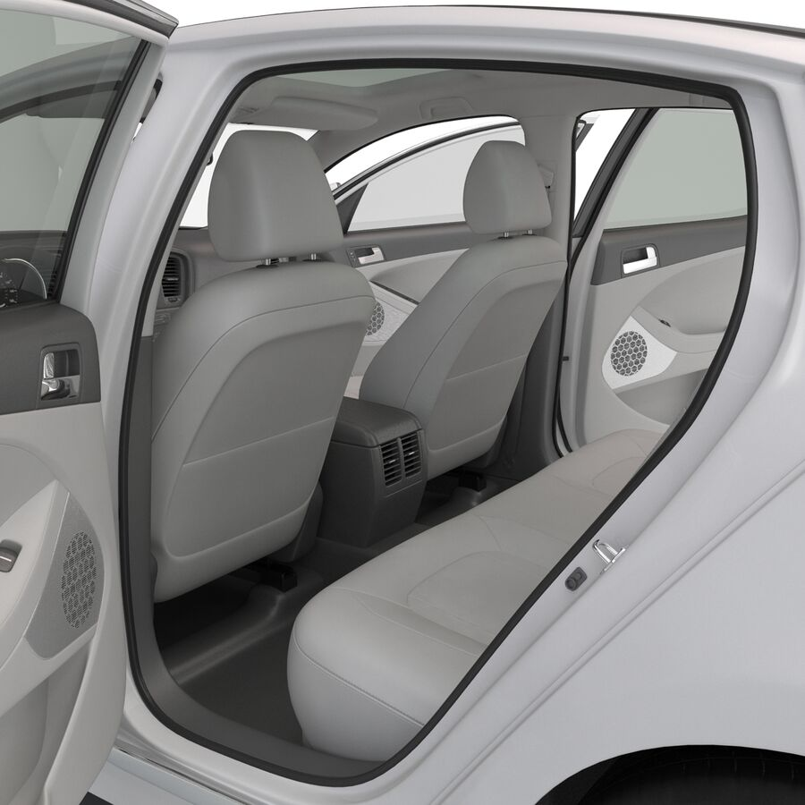 Kia Optima 2014 manipuliert royalty-free 3d model - Preview no. 66