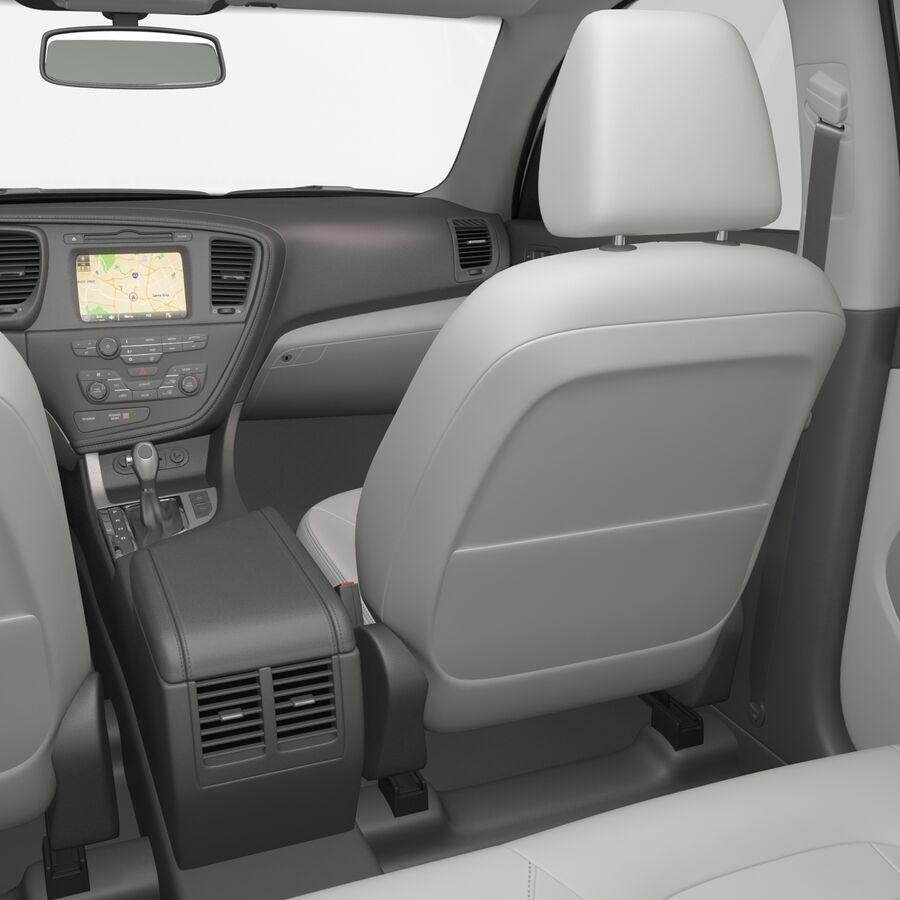 Kia Optima 2014 manipuliert royalty-free 3d model - Preview no. 75