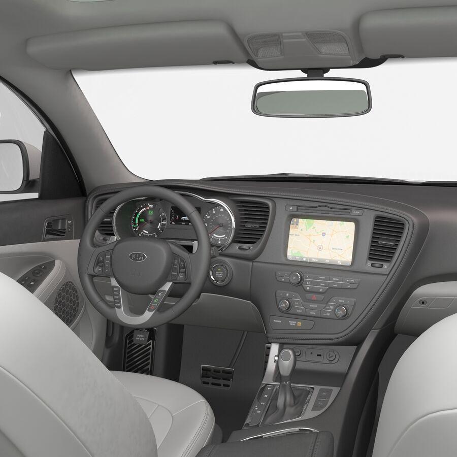 Kia Optima 2014 manipuliert royalty-free 3d model - Preview no. 69