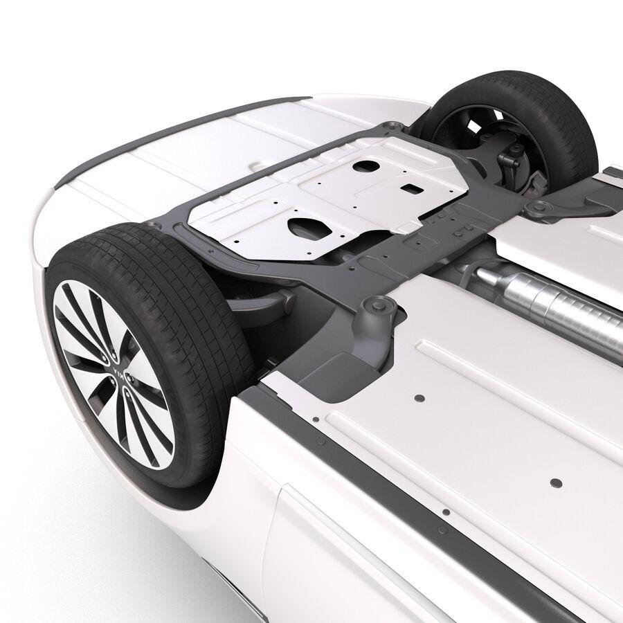 Kia Optima 2014 manipuliert royalty-free 3d model - Preview no. 21