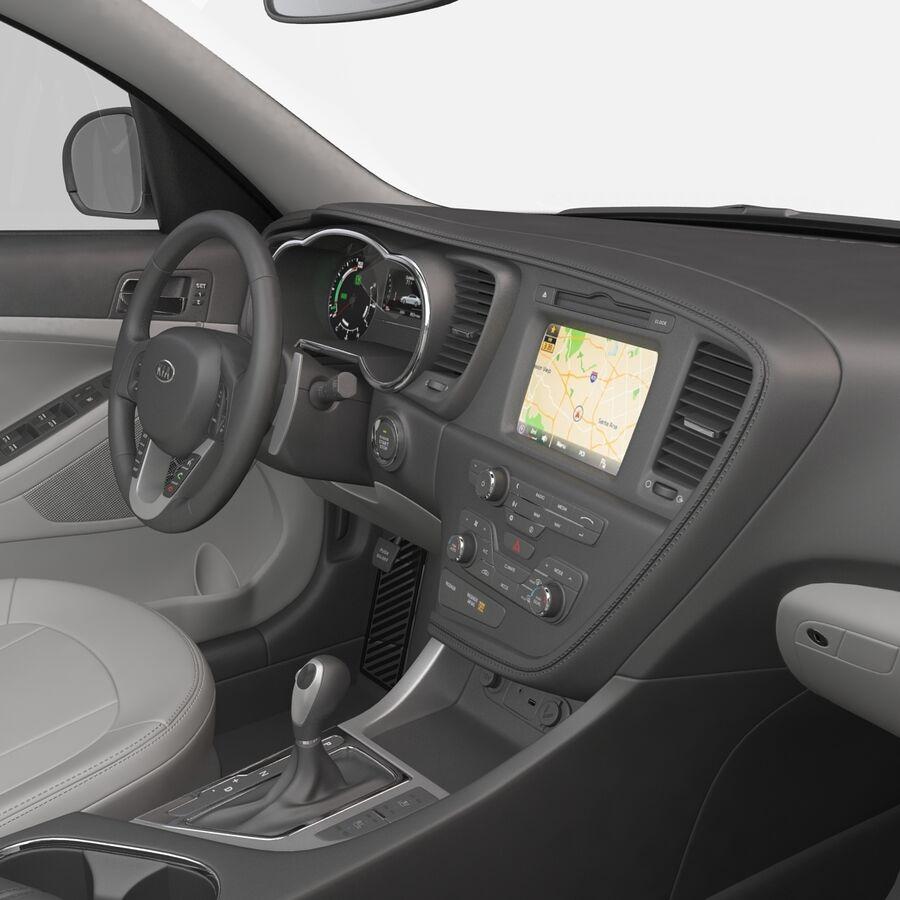 Kia Optima 2014 manipuliert royalty-free 3d model - Preview no. 72