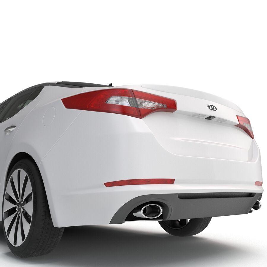 Kia Optima 2014 manipuliert royalty-free 3d model - Preview no. 44