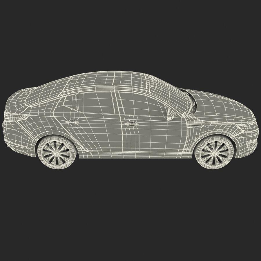 Kia Optima 2014 manipuliert royalty-free 3d model - Preview no. 84