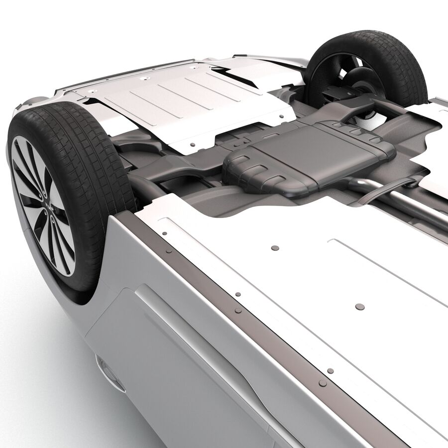 Kia Optima 2014 manipuliert royalty-free 3d model - Preview no. 19