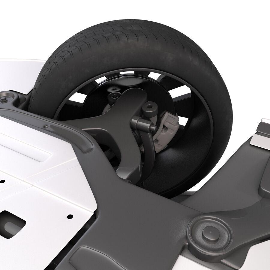 Kia Optima 2014 manipuliert royalty-free 3d model - Preview no. 24