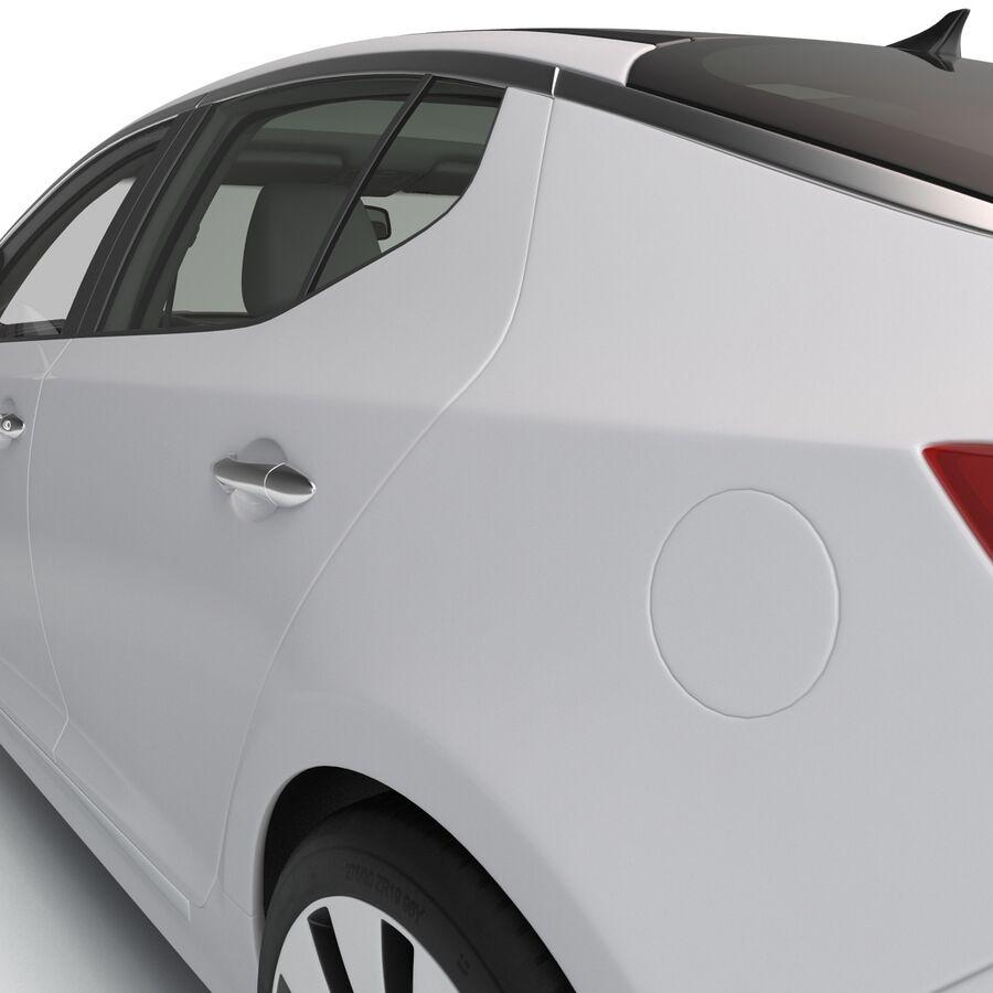 Kia Optima 2014 manipuliert royalty-free 3d model - Preview no. 47
