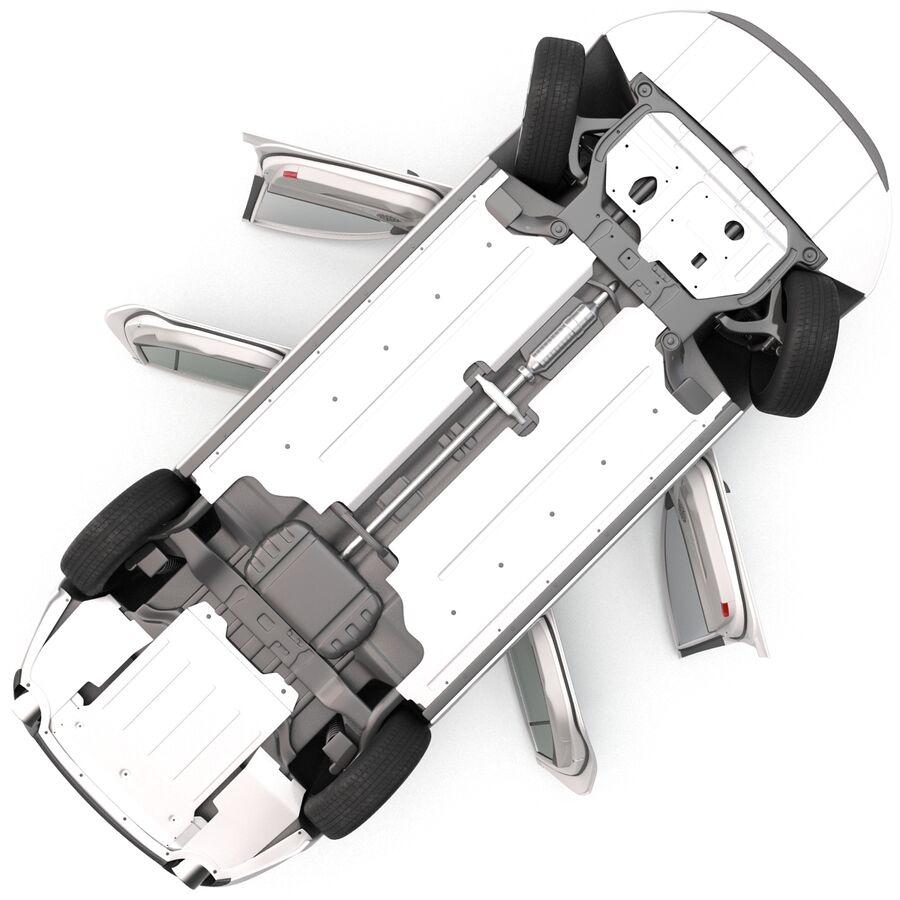 Kia Optima 2014 manipuliert royalty-free 3d model - Preview no. 14