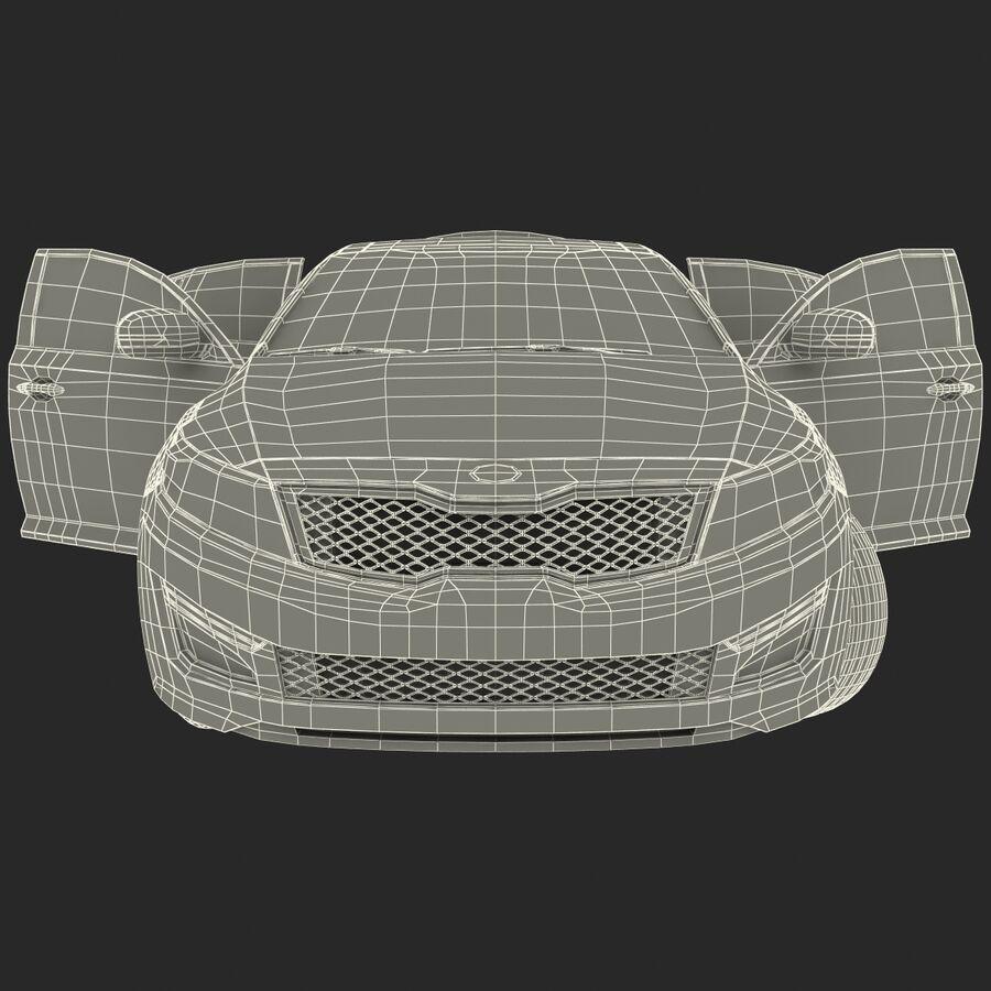Kia Optima 2014 manipuliert royalty-free 3d model - Preview no. 79