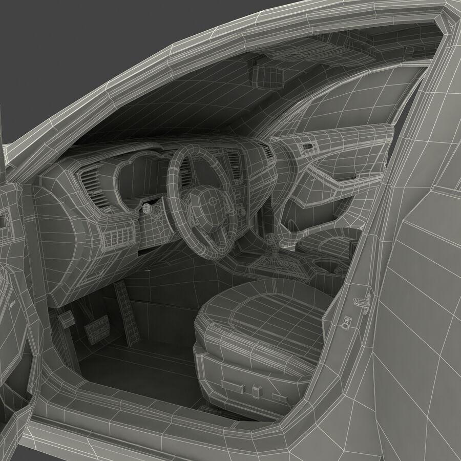 Kia Optima 2014 manipuliert royalty-free 3d model - Preview no. 113