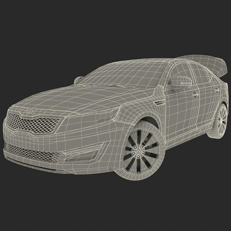 Kia Optima 2014 manipuliert royalty-free 3d model - Preview no. 77