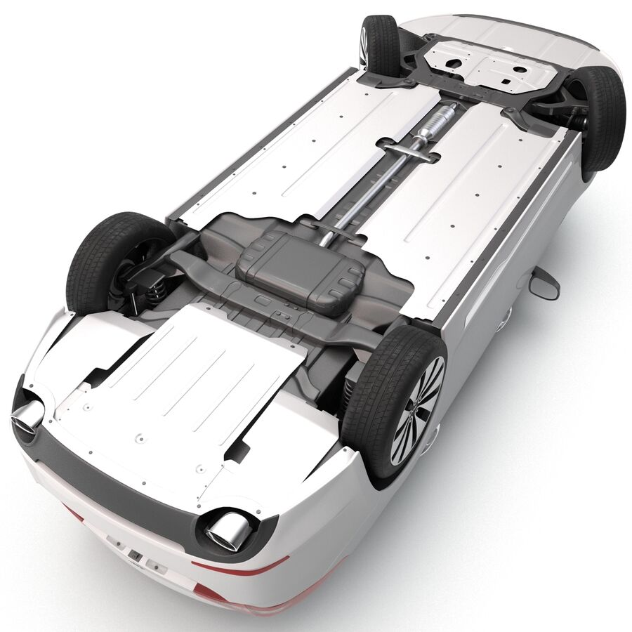 Kia Optima 2014 manipuliert royalty-free 3d model - Preview no. 16