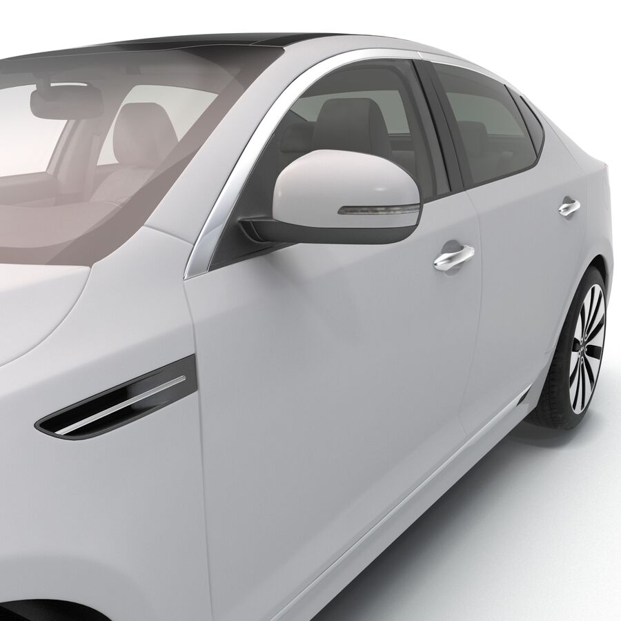 Kia Optima 2014 manipuliert royalty-free 3d model - Preview no. 55