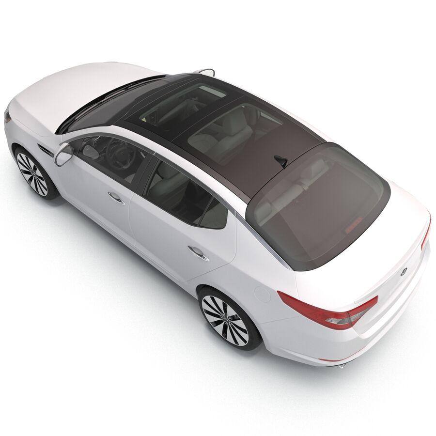 Kia Optima 2014 manipuliert royalty-free 3d model - Preview no. 42