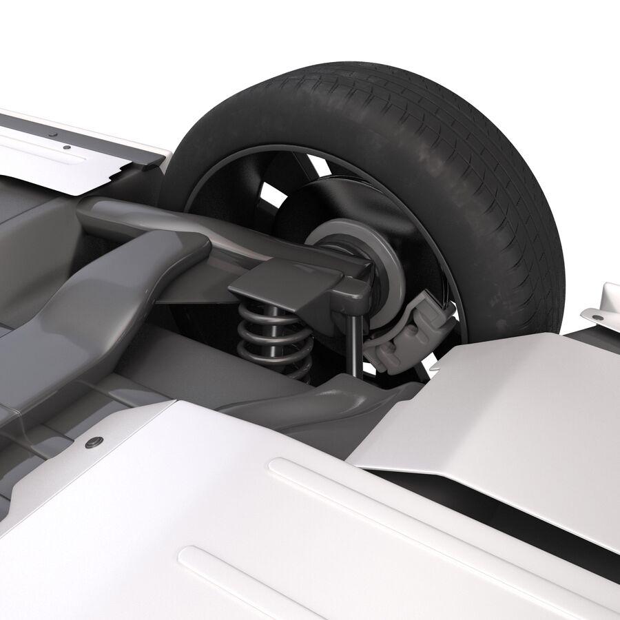 Kia Optima 2014 manipuliert royalty-free 3d model - Preview no. 20