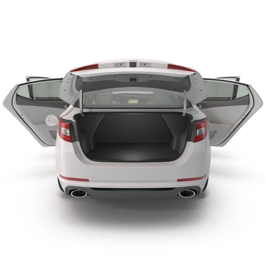 Kia Optima 2014 manipuliert royalty-free 3d model - Preview no. 8