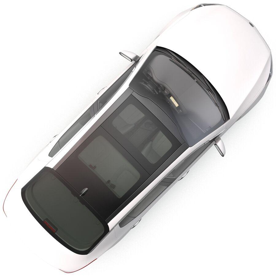 Kia Optima 2014 manipuliert royalty-free 3d model - Preview no. 11
