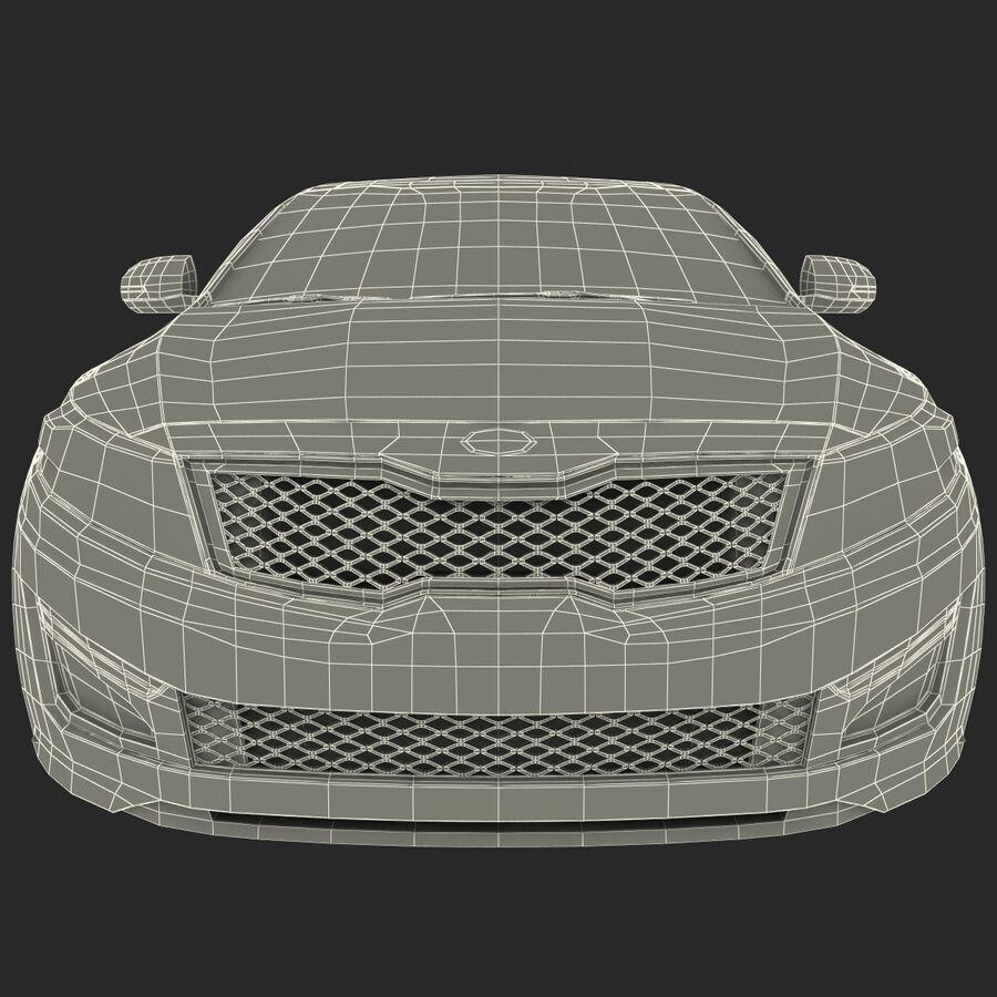 Kia Optima 2014 manipuliert royalty-free 3d model - Preview no. 78