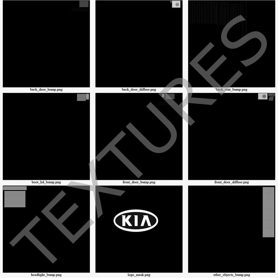Kia Optima 2014 manipuliert royalty-free 3d model - Preview no. 124