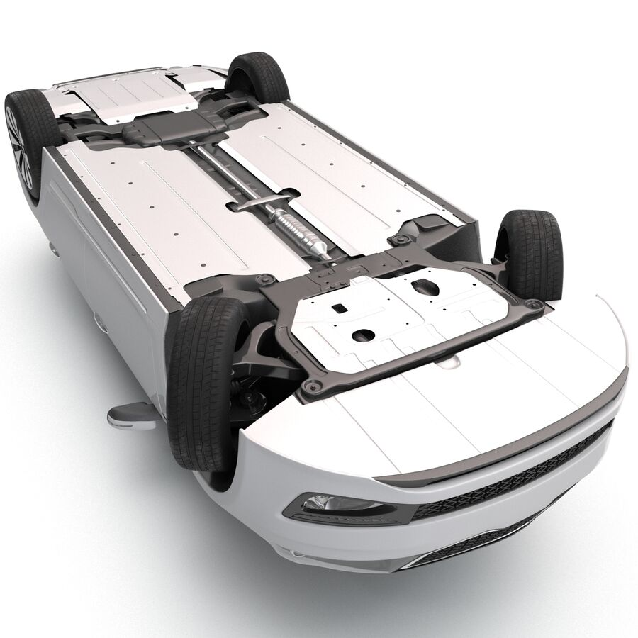 Kia Optima 2014 manipuliert royalty-free 3d model - Preview no. 18