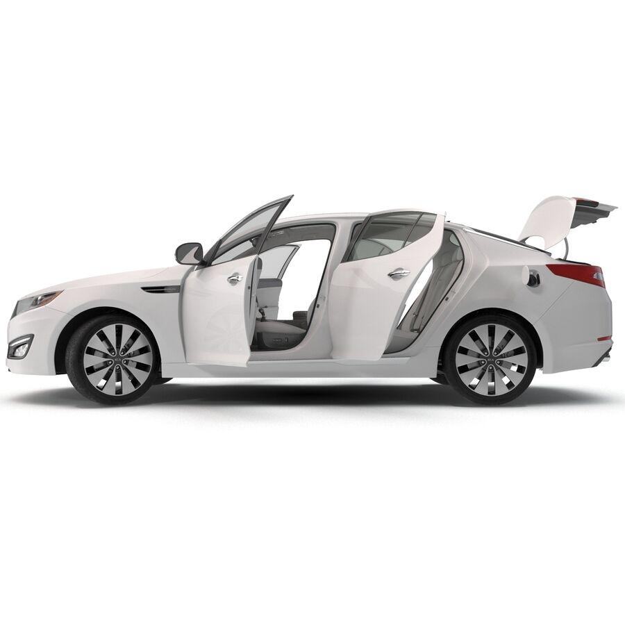 Kia Optima 2014 manipuliert royalty-free 3d model - Preview no. 6