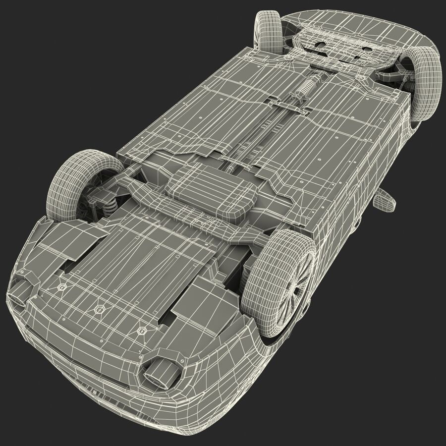 Kia Optima 2014 manipuliert royalty-free 3d model - Preview no. 91
