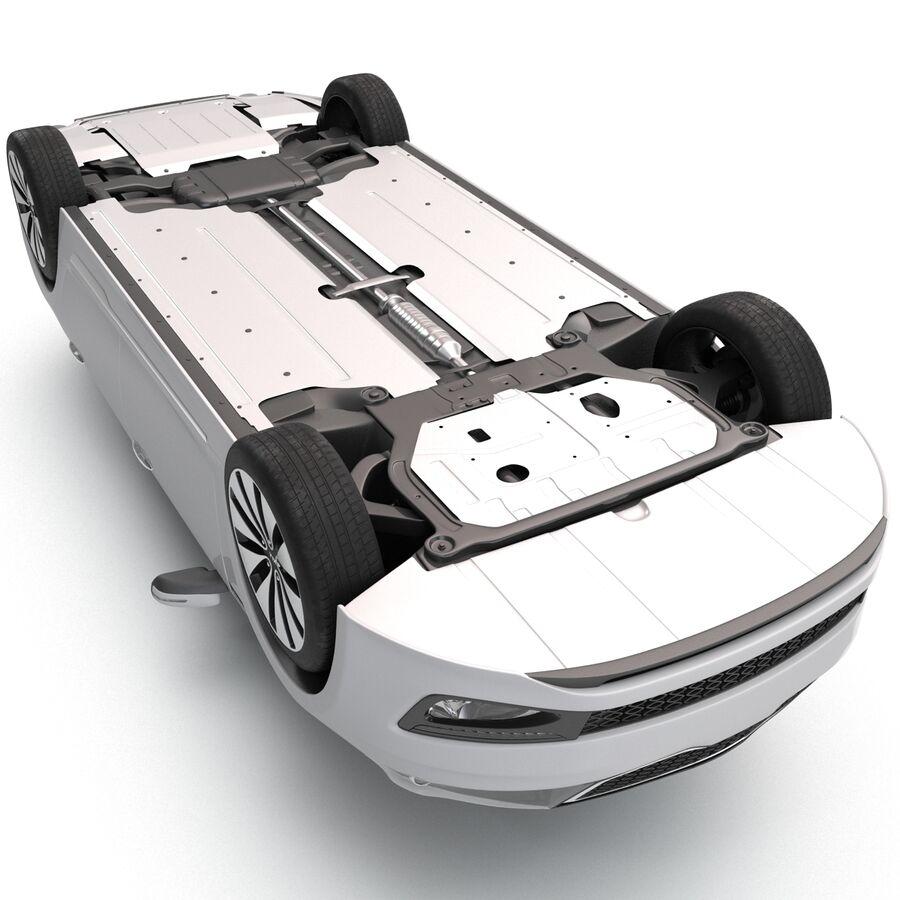 Kia Optima 2014 manipuliert royalty-free 3d model - Preview no. 17