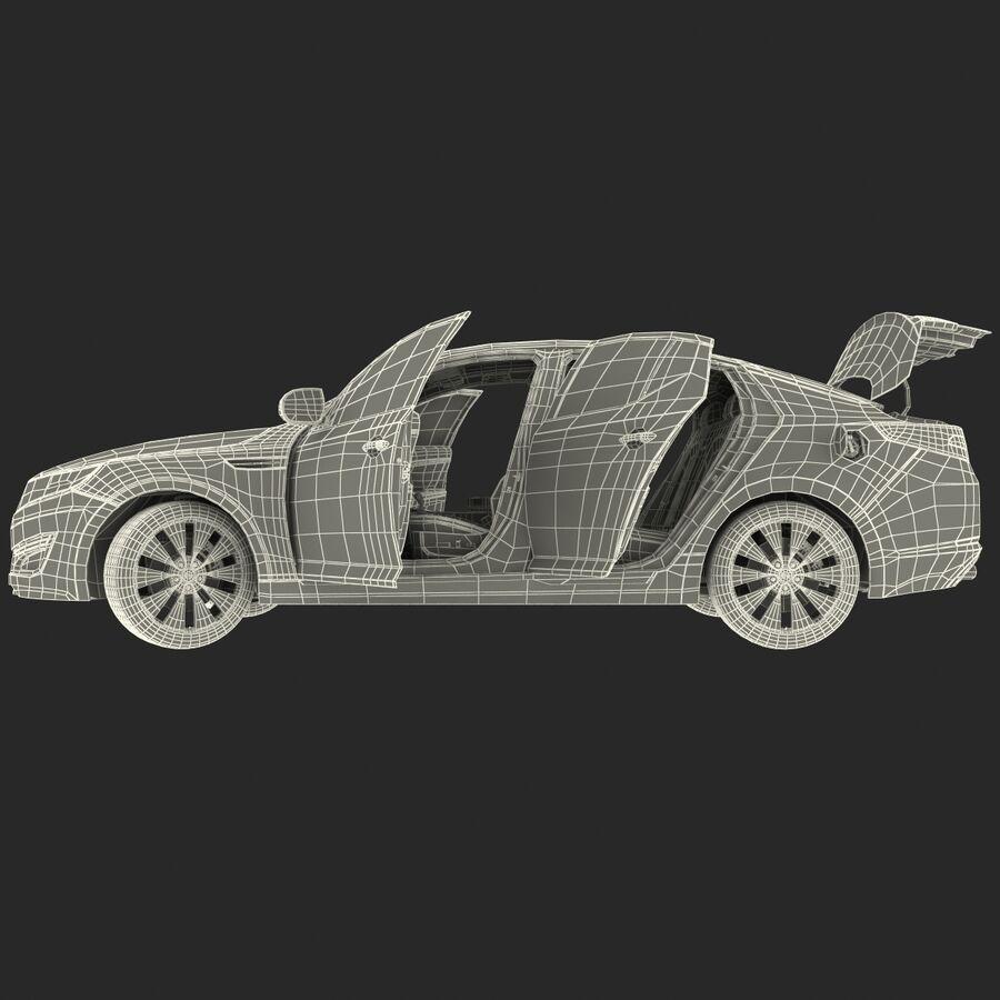 Kia Optima 2014 manipuliert royalty-free 3d model - Preview no. 81