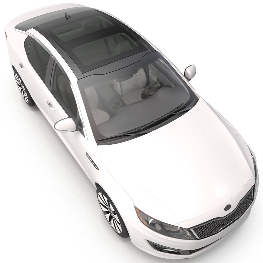 Kia Optima 2014 manipuliert royalty-free 3d model - Preview no. 31