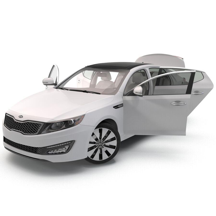 Kia Optima 2014 manipuliert royalty-free 3d model - Preview no. 29