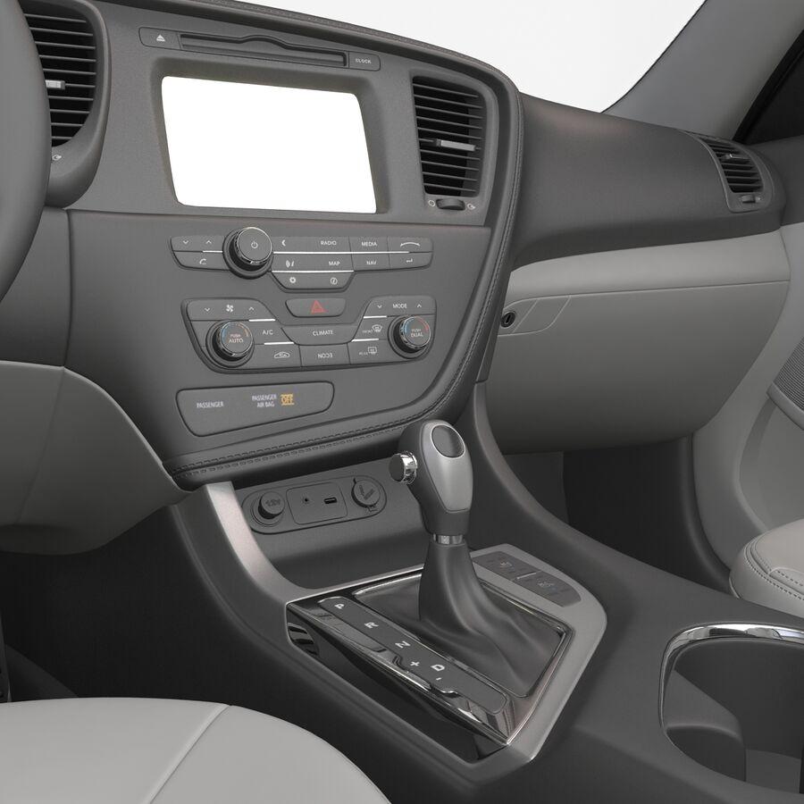 Kia Optima 2014 manipuliert royalty-free 3d model - Preview no. 73
