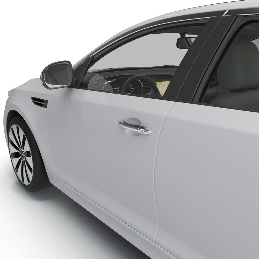Kia Optima 2014 manipuliert royalty-free 3d model - Preview no. 49