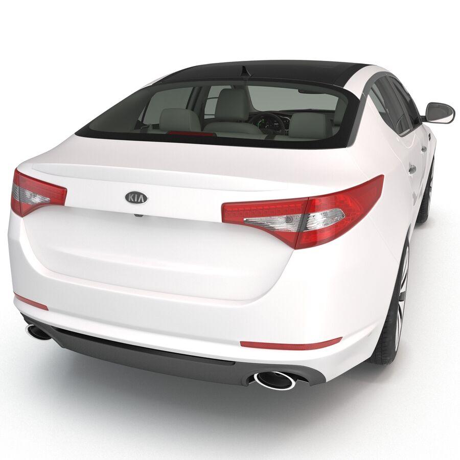 Kia Optima 2014 manipuliert royalty-free 3d model - Preview no. 38
