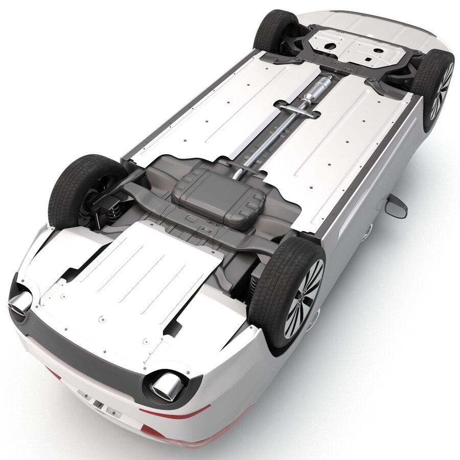 Kia Optima 2014 manipuliert royalty-free 3d model - Preview no. 15