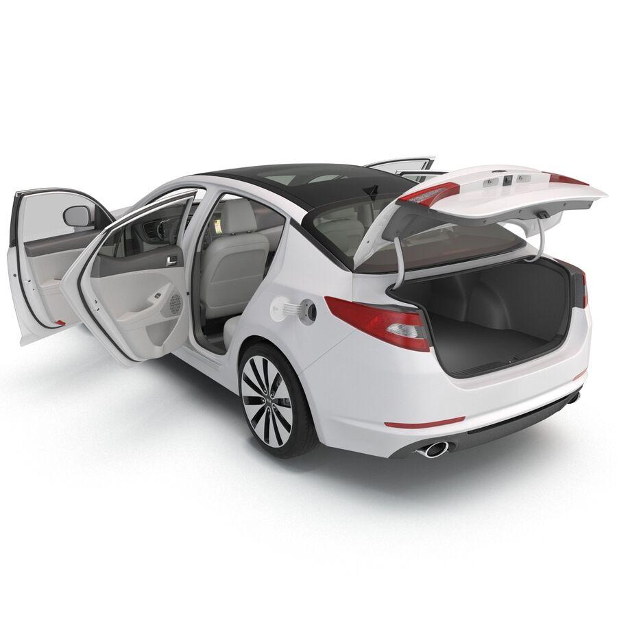 Kia Optima 2014 manipuliert royalty-free 3d model - Preview no. 41