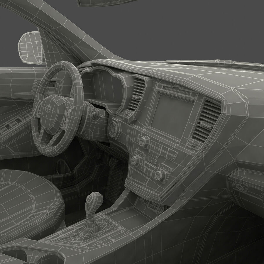 Kia Optima 2014 manipuliert royalty-free 3d model - Preview no. 118