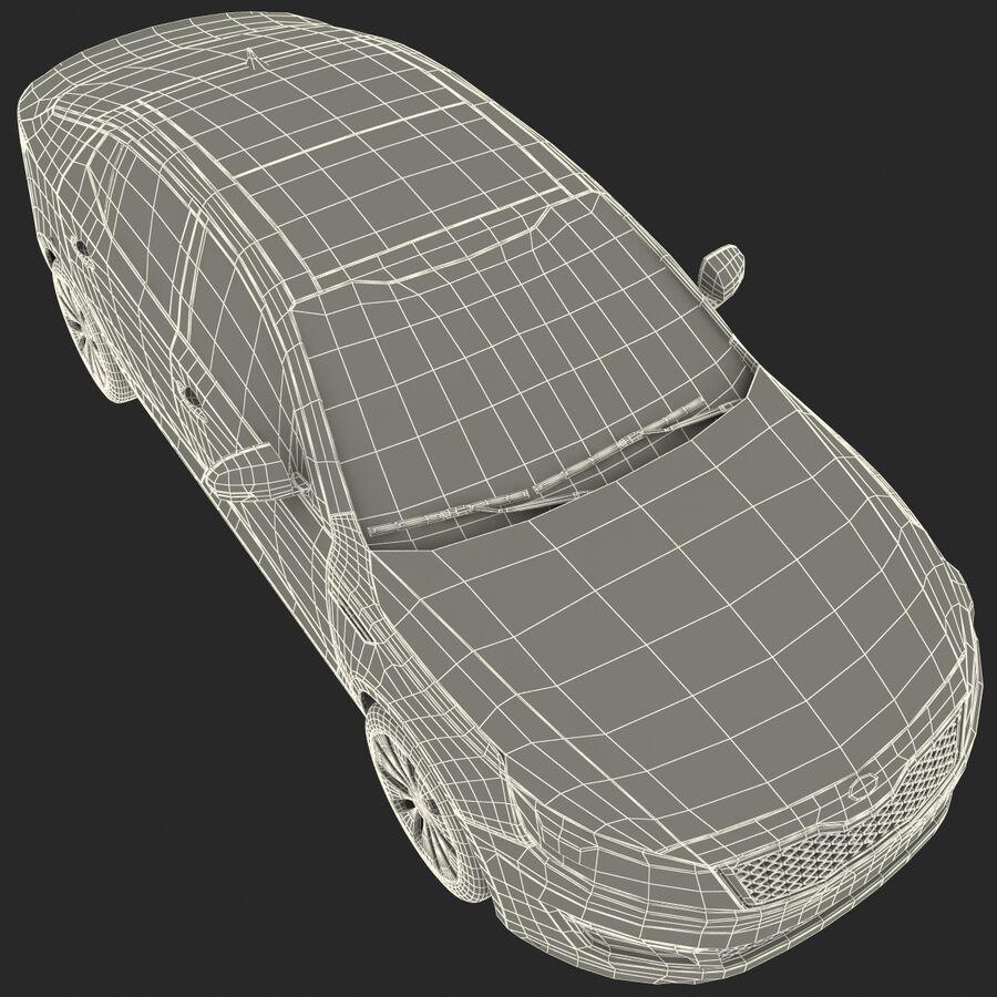 Kia Optima 2014 manipuliert royalty-free 3d model - Preview no. 96