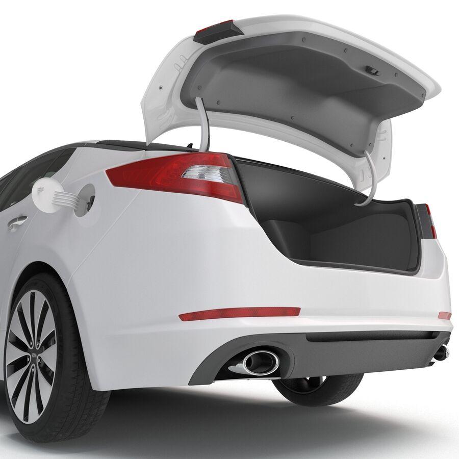 Kia Optima 2014 manipuliert royalty-free 3d model - Preview no. 45