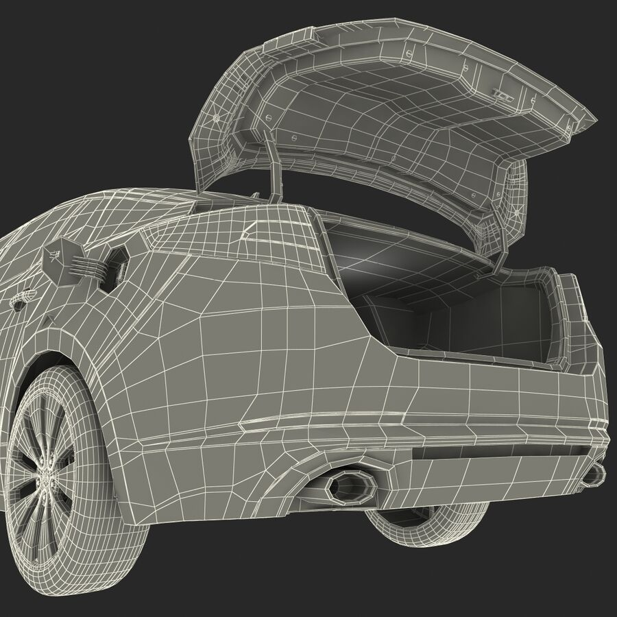 Kia Optima 2014 manipuliert royalty-free 3d model - Preview no. 103