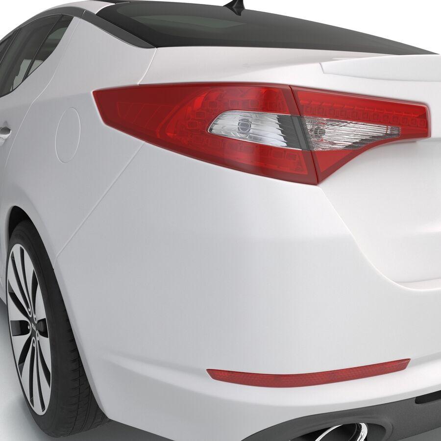 Kia Optima 2014 manipuliert royalty-free 3d model - Preview no. 46